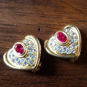 Jewelry - Earrings with yellow gold plating